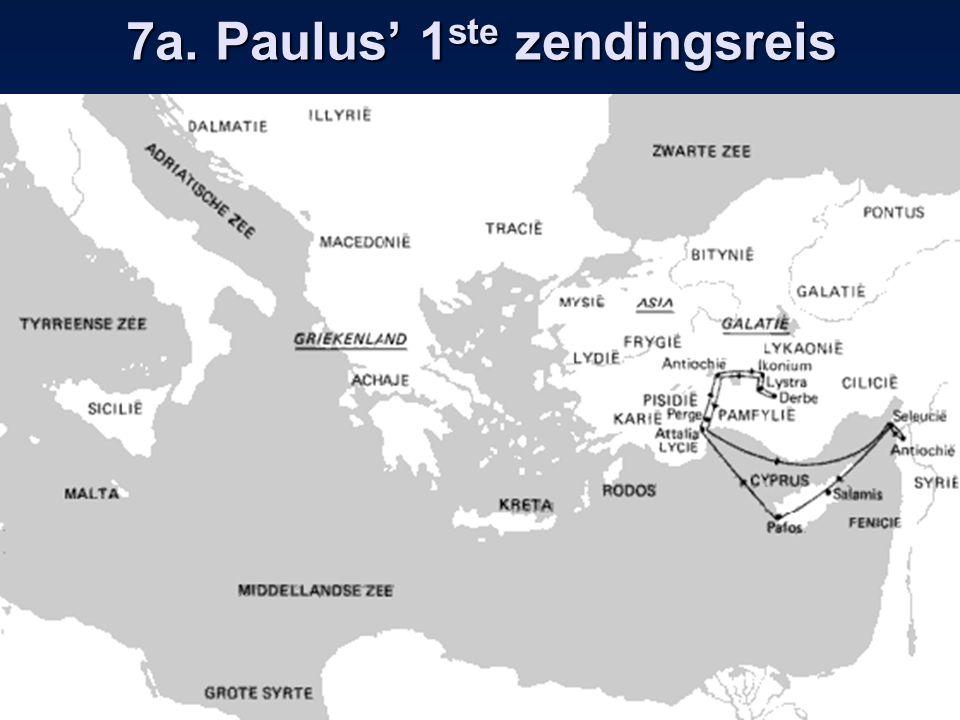 7b. Paulus' 2 e zendingsreis