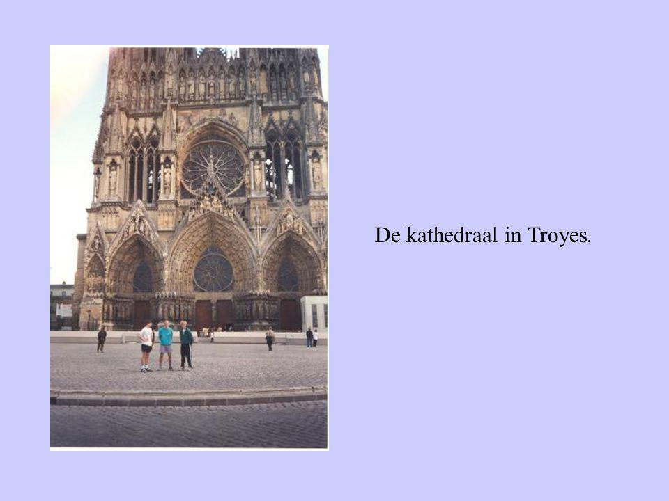 De kathedraal in Troyes.