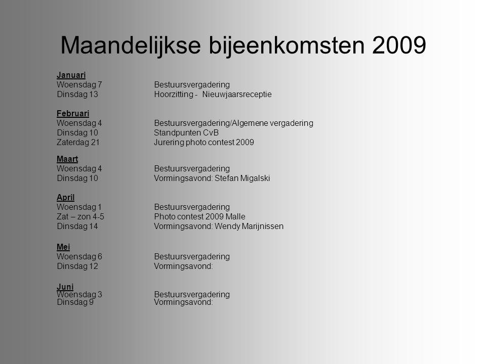 Tentoonstellingen en vormingsavonden September 8Vormingsavond FgA 19-20Focus Meerhout:Gem.