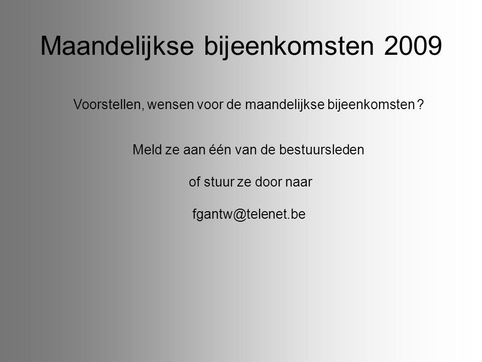 Tentoonstellingen en vormingsavonden November 1-2Nete en Aa Grobbendonk: 40 jaar Nete & Aa vzw: De Volle Vaart, Grobbendonk 1Fotoclub Visueel Lichtaart; Ontmoetingscentrum, Schoolstraat 1, 2460 Lichtaart.