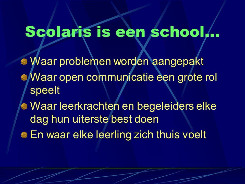Scolaris is een school...