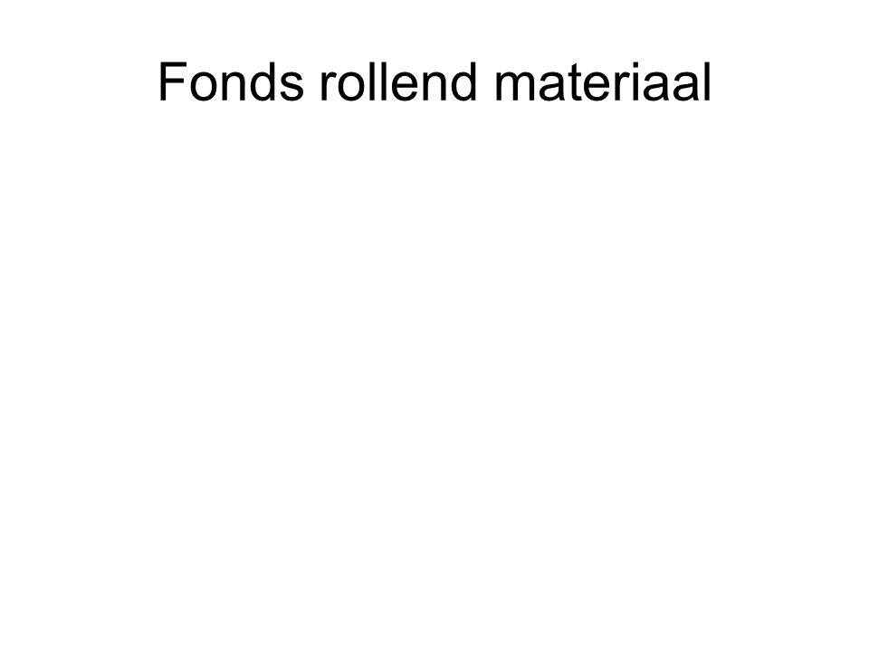 Fonds rollend materiaal