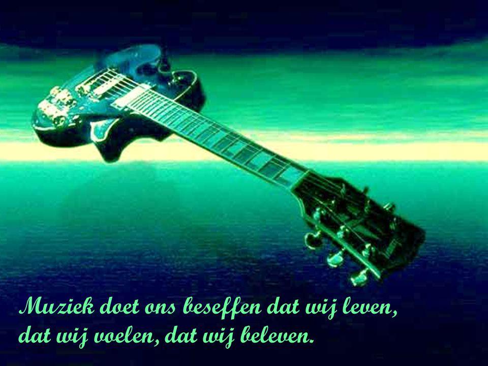Muziek is als de liefde, daar zijn geen uren en plaatsen voor.
