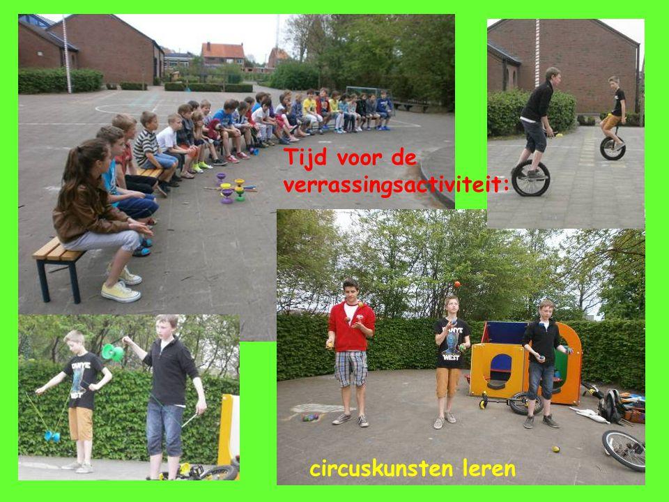 Tijd voor de verrassingsactiviteit: circuskunsten leren