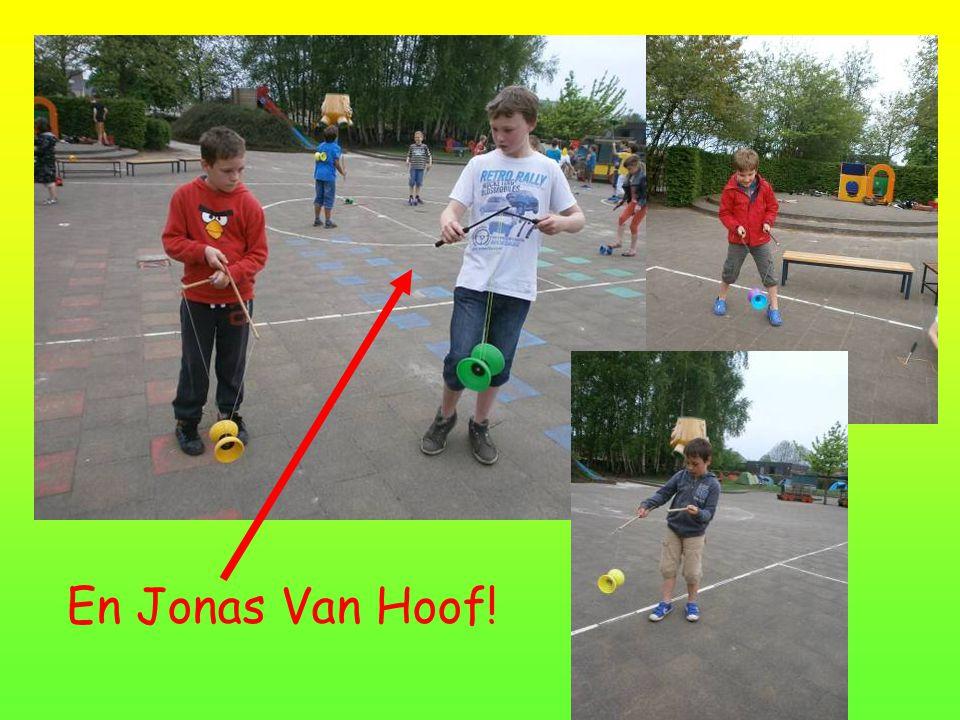 En Jonas Van Hoof!
