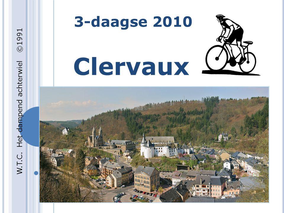 3-daagse 2010 Clervaux W.T.C. Het dampend achterwiel ©1991