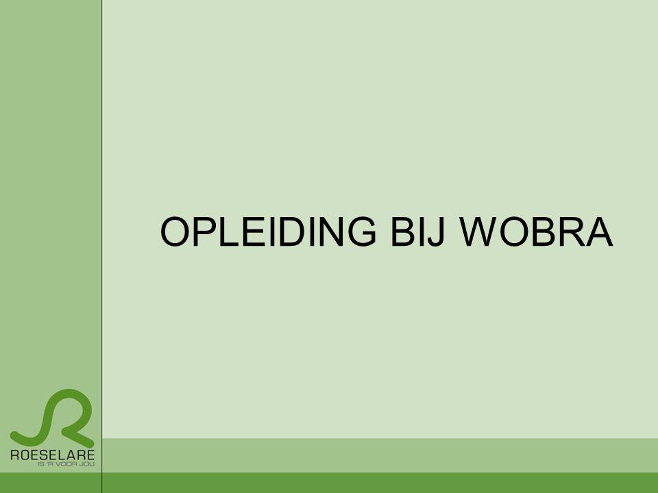 OPLEIDING BIJ WOBRA