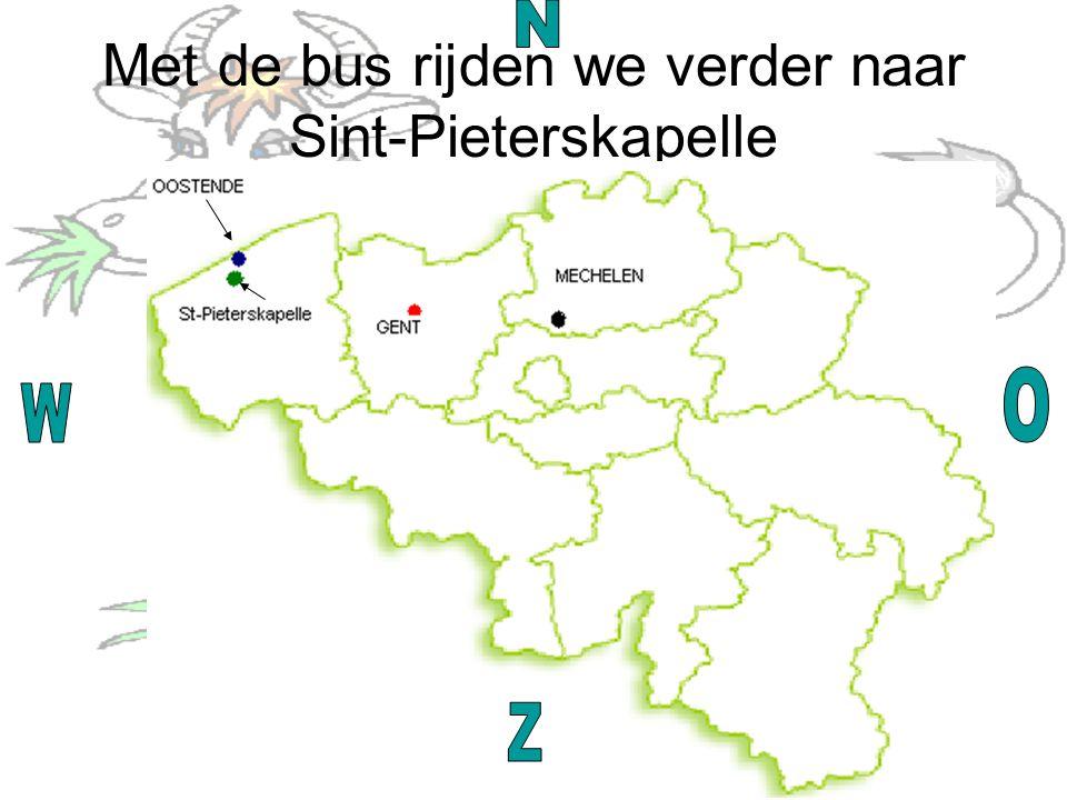 Met de bus rijden we verder naar Sint-Pieterskapelle