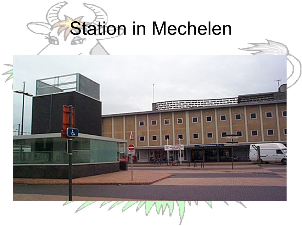 Station in Mechelen