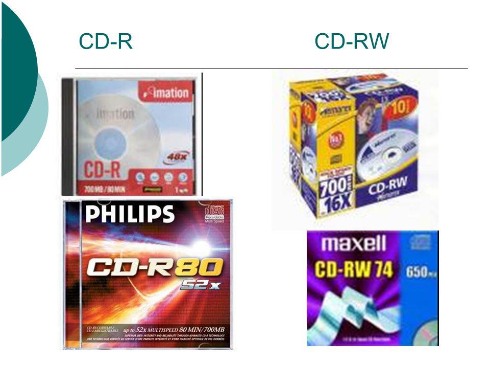 CD-R CD-RW