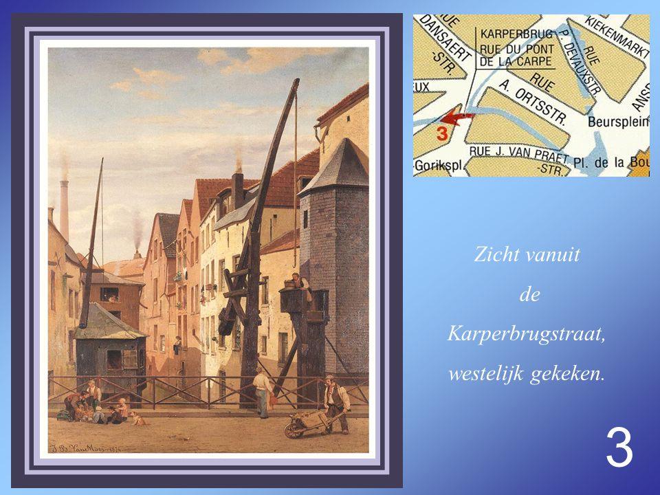 3 Zicht vanuit de Karperbrugstraat, westelijk gekeken.