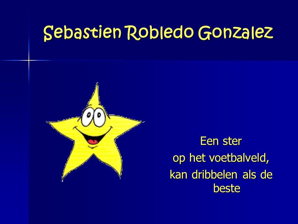 Sebastien Robledo Gonzalez Een ster op het voetbalveld, kan dribbelen als de beste