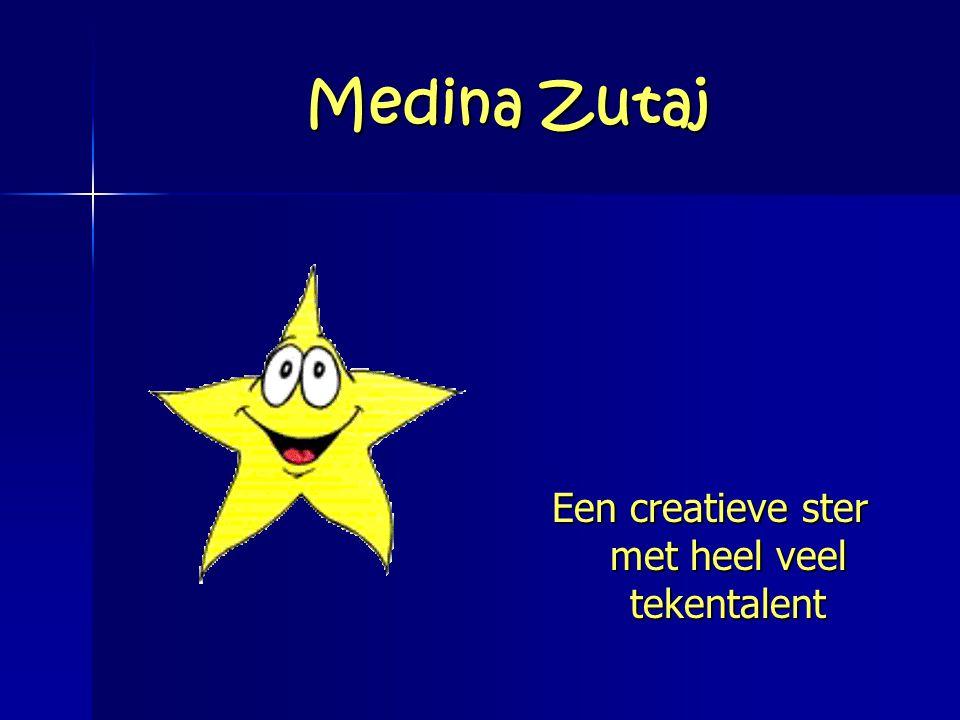 Medina Zutaj Een creatieve ster met heel veel tekentalent