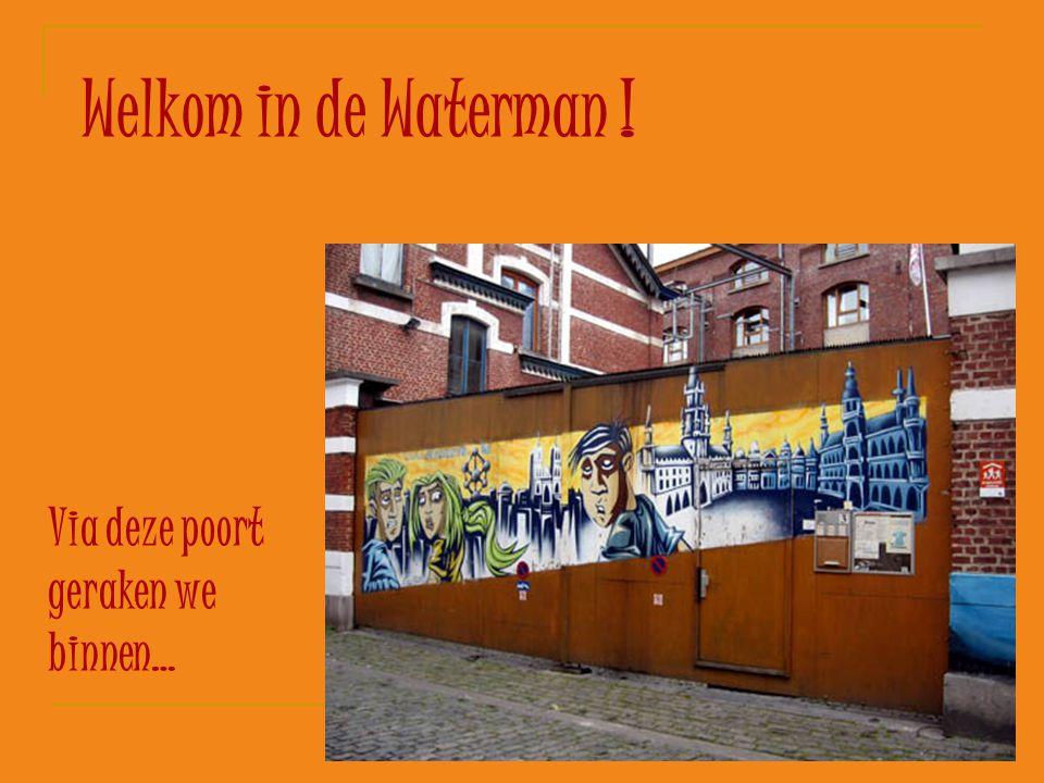 Welkom in de Waterman ! Via deze poort geraken we binnen…