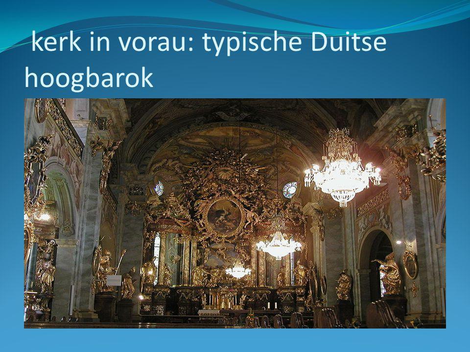 kerk in vorau: typische Duitse hoogbarok