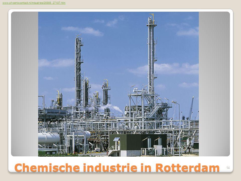 Chemische industrie in Rotterdam Chemische industrie in Rotterdam www.phoenixcontact.nl/industries/26986_27187.htm 14