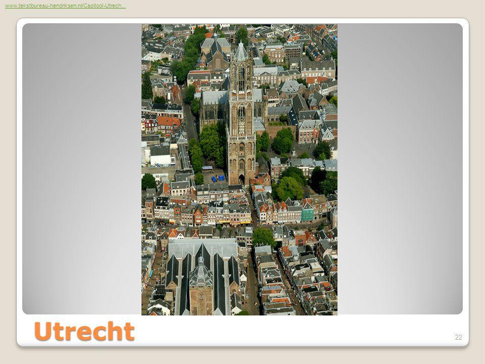 Utrecht www.tekstbureau-hendriksen.nl/Capitool-Utrech... 22