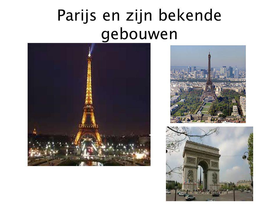 Parijs en zijn bekende gebouwen