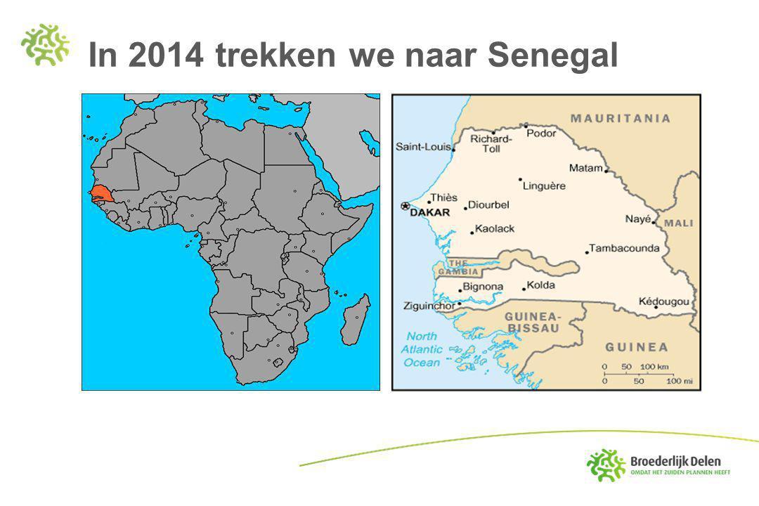 In 2014 trekken we naar Senegal