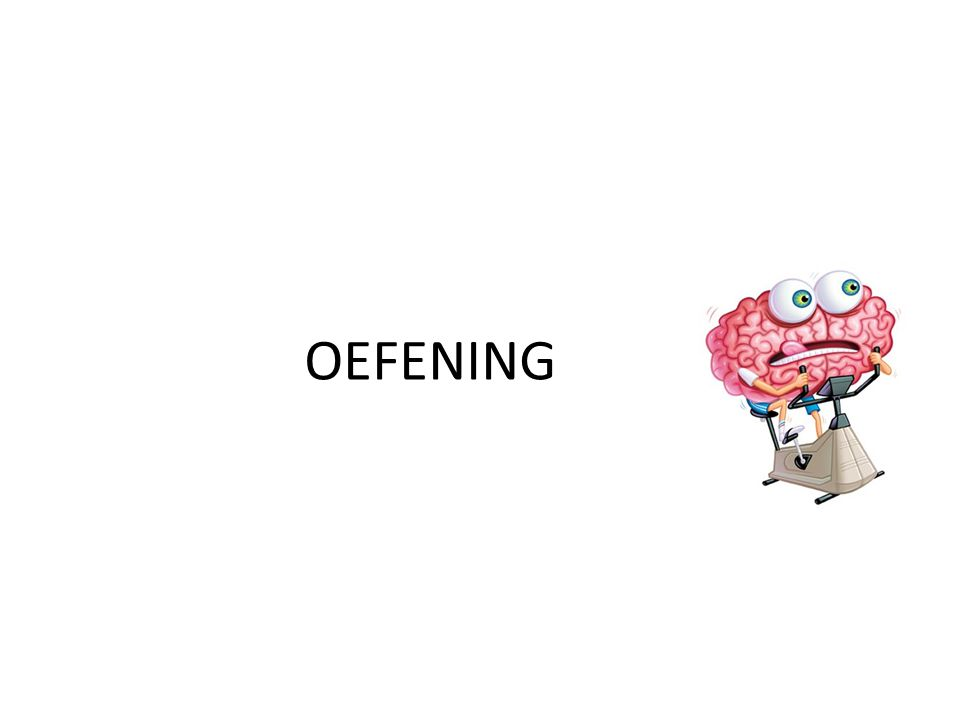 OEFENING