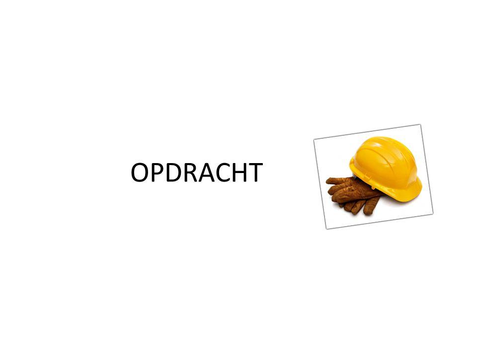 OPDRACHT