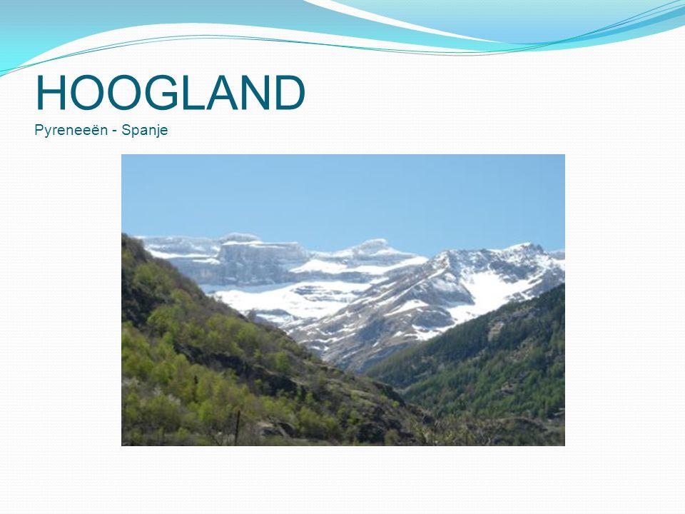 HOOGLAND Pyreneeën - Spanje