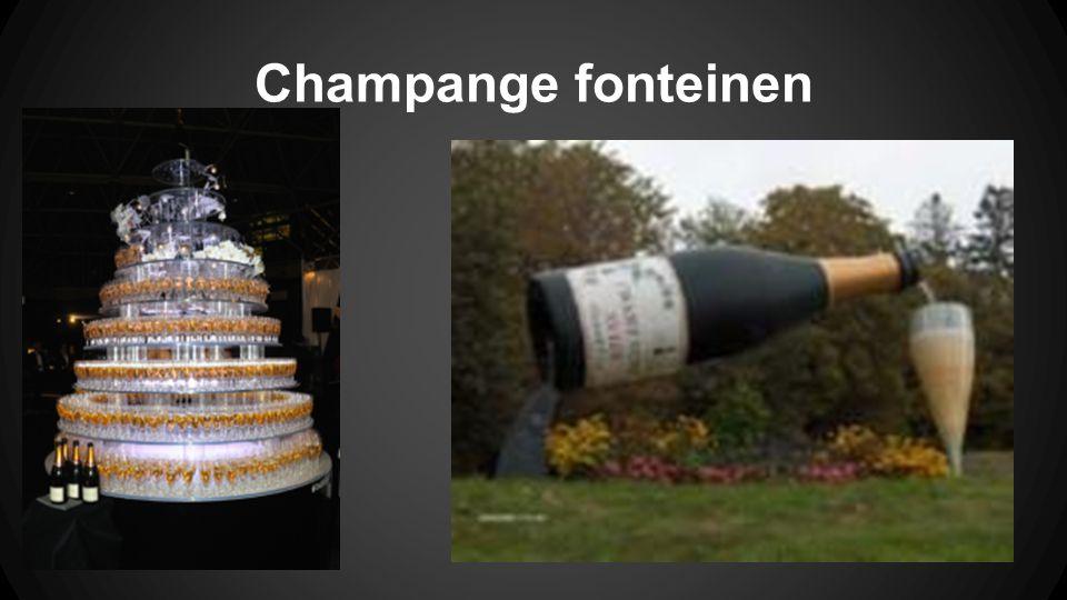 Champange fonteinen