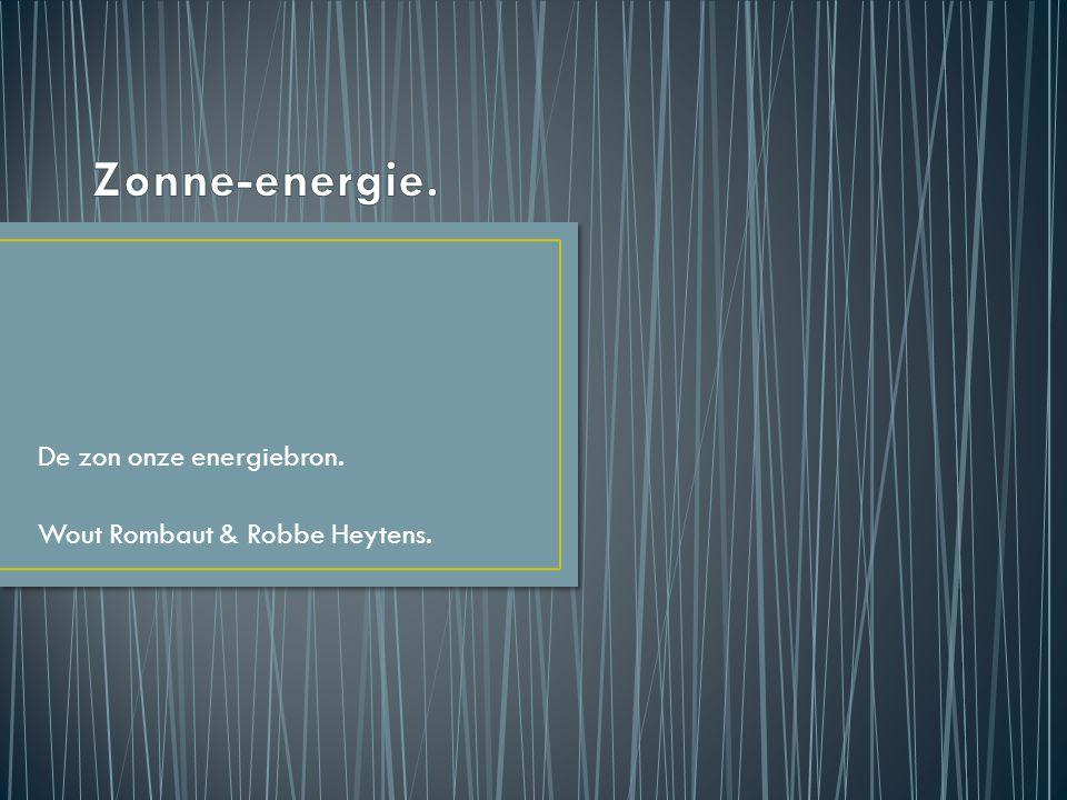 Wat is zonne-energie.Hoe werkt zonne-energie. Voordelen van zonne-energie.