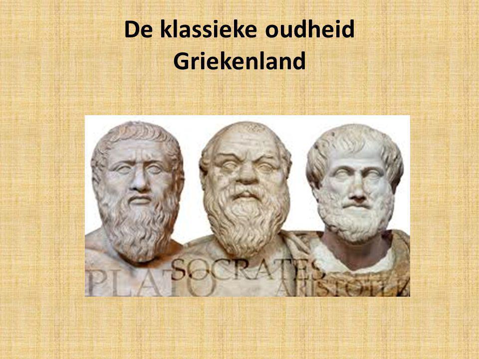 De klassieke oudheid Griekenland
