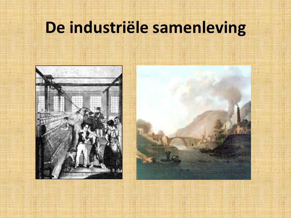 De industriële samenleving