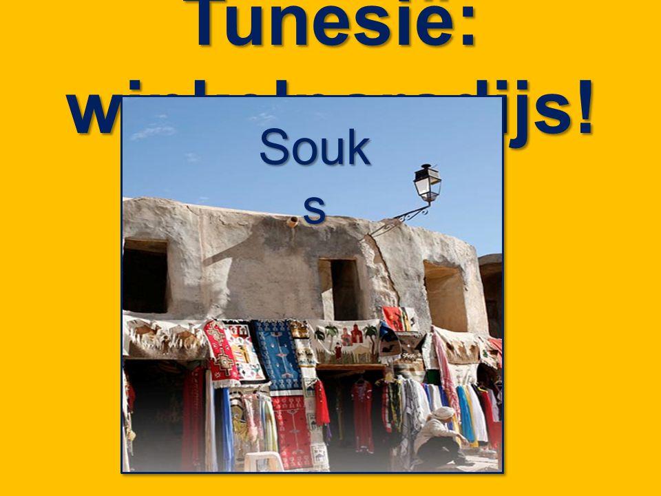 Tunesië: winkelparadijs! Souk s