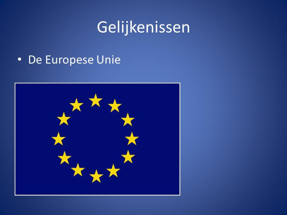 Gelijkenissen De Europese Unie