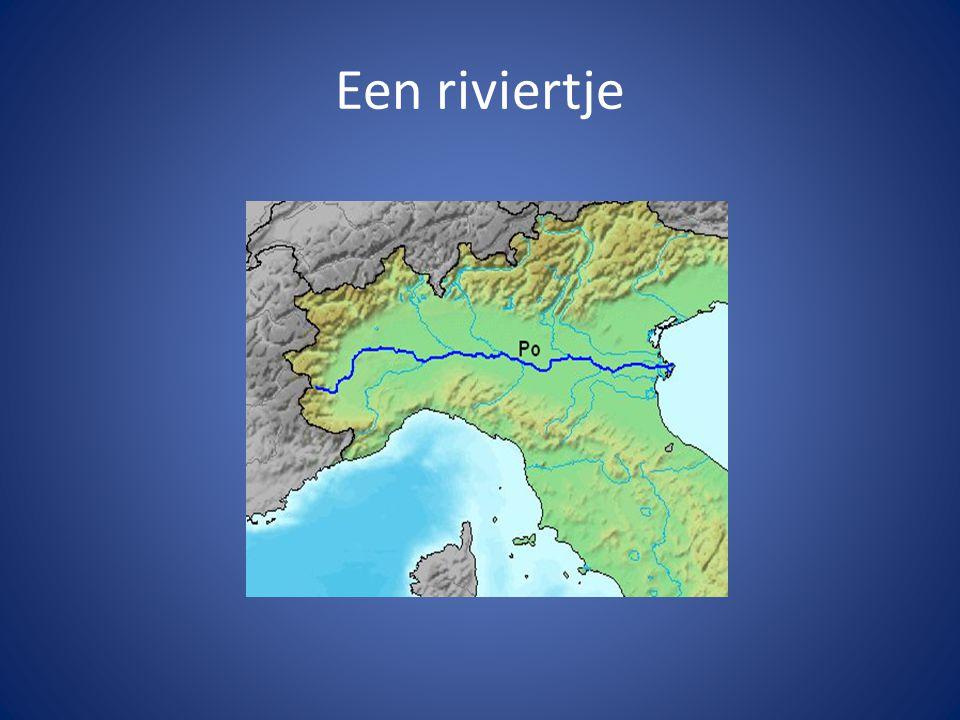 Een riviertje