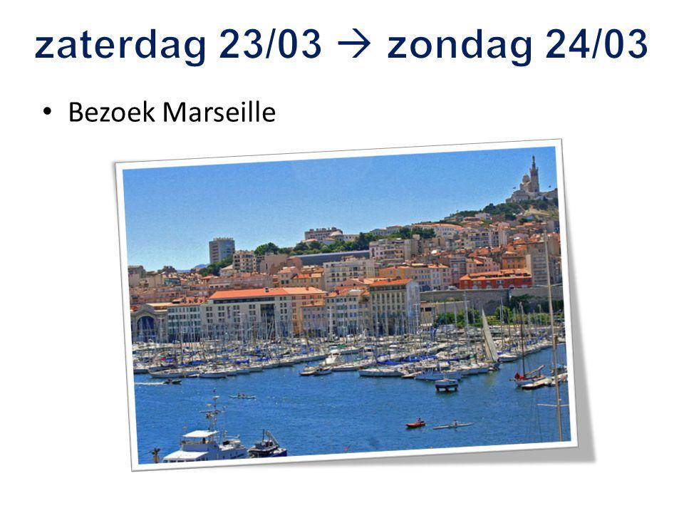 Bezoek Marseille