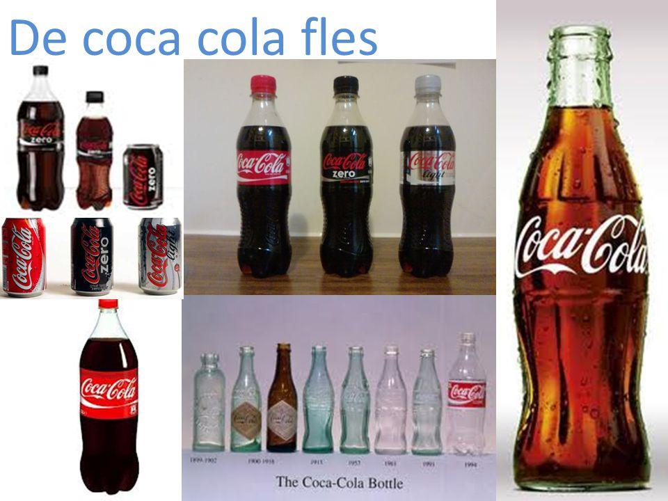 De coca cola fles