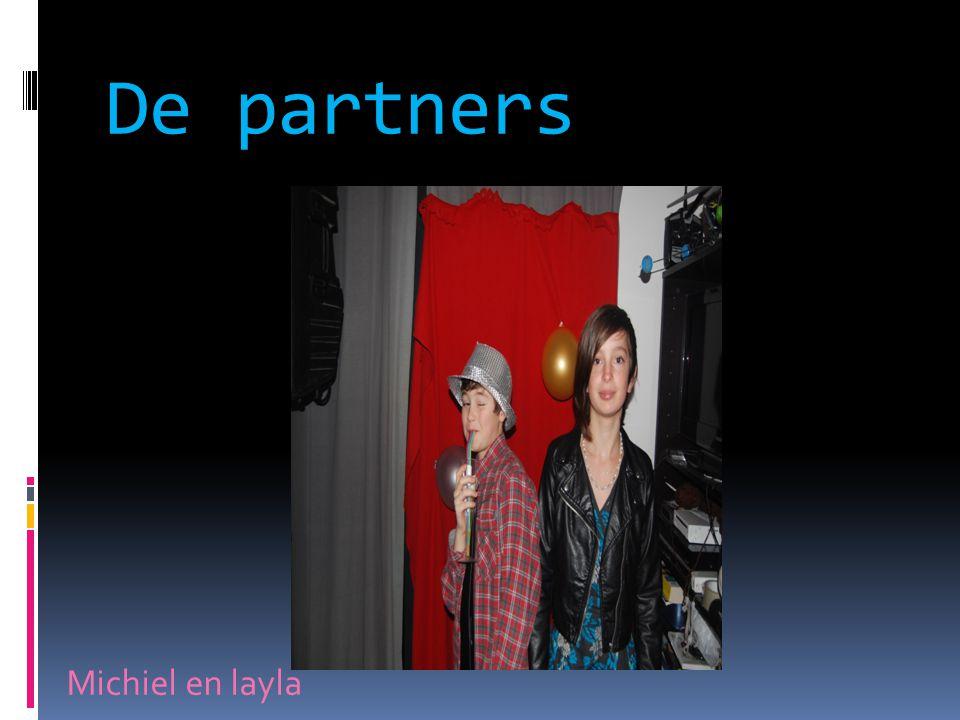 De partners Michiel en layla