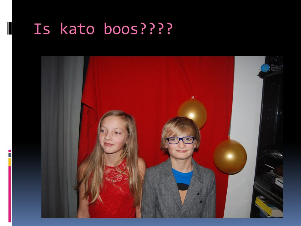 Is kato boos