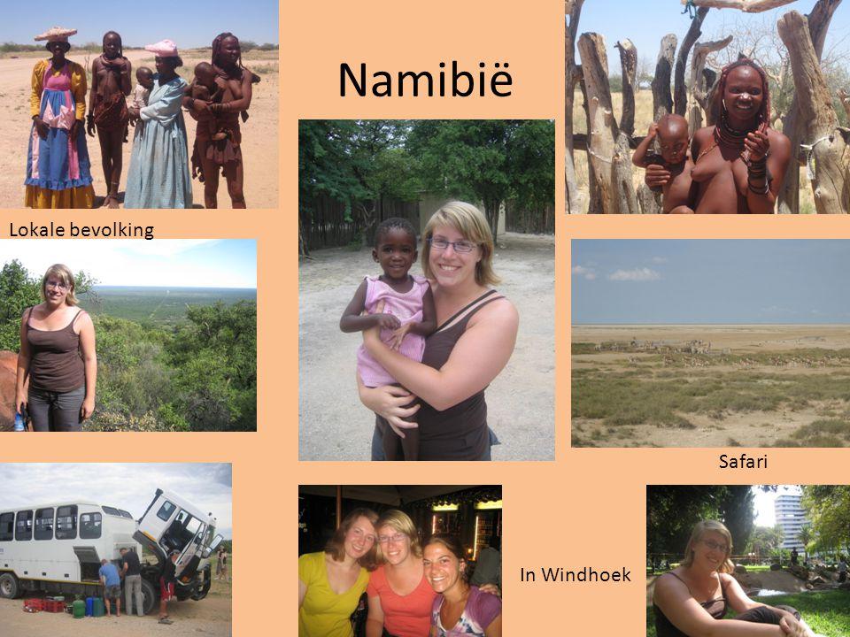 Tocht naar ZA Vertrek vanuit Windhoek met de bus richting Upington (in het NW van Zuid-Afrika).