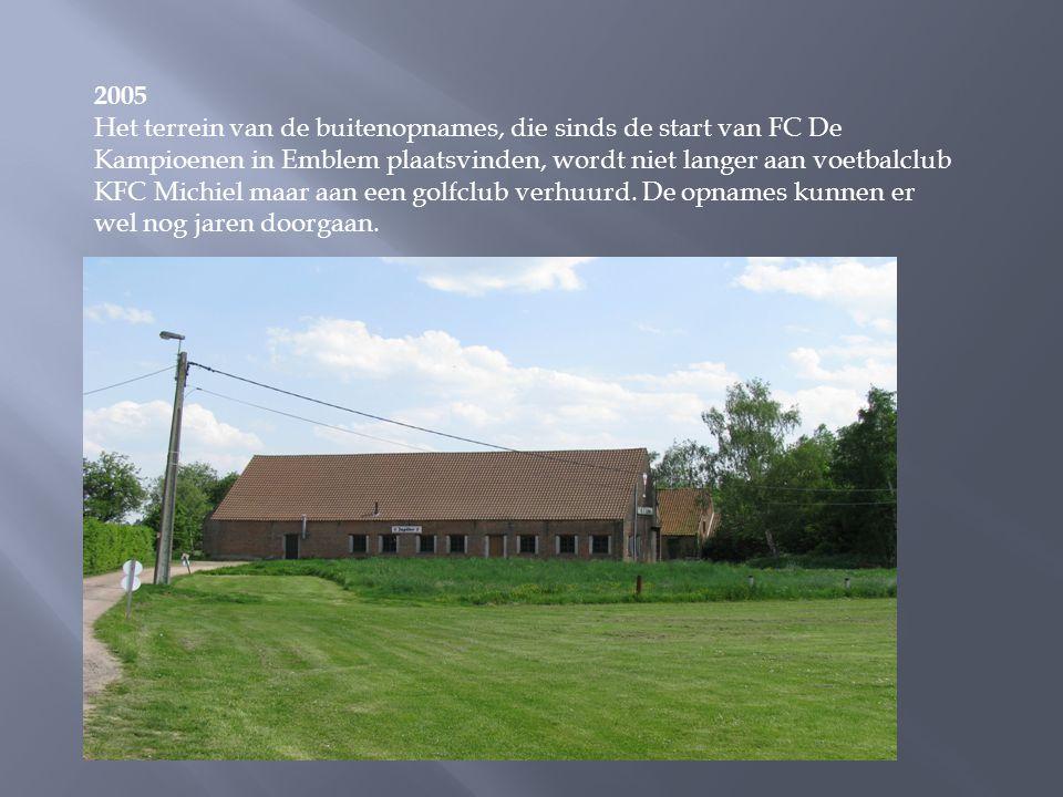 2004 In reeks vijftien is het nakende huwelijk van Marcske (Herman Verbruggen) en Bieke (An Swartenbroekx) groot nieuws. De voorbereidingen en de trou