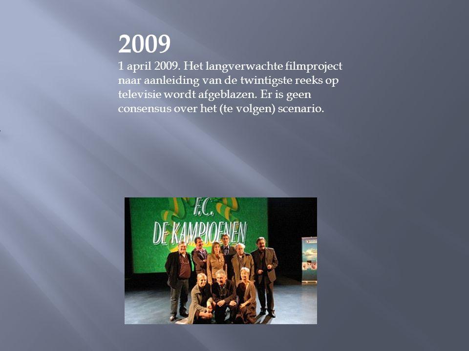 2008 In reeks negentien krijgt Boma een vrouw: de antropologe Goedele Decocq, een rol voor Machteld Timmermans. FC De Kampioenen wordt dat jaar ook vo