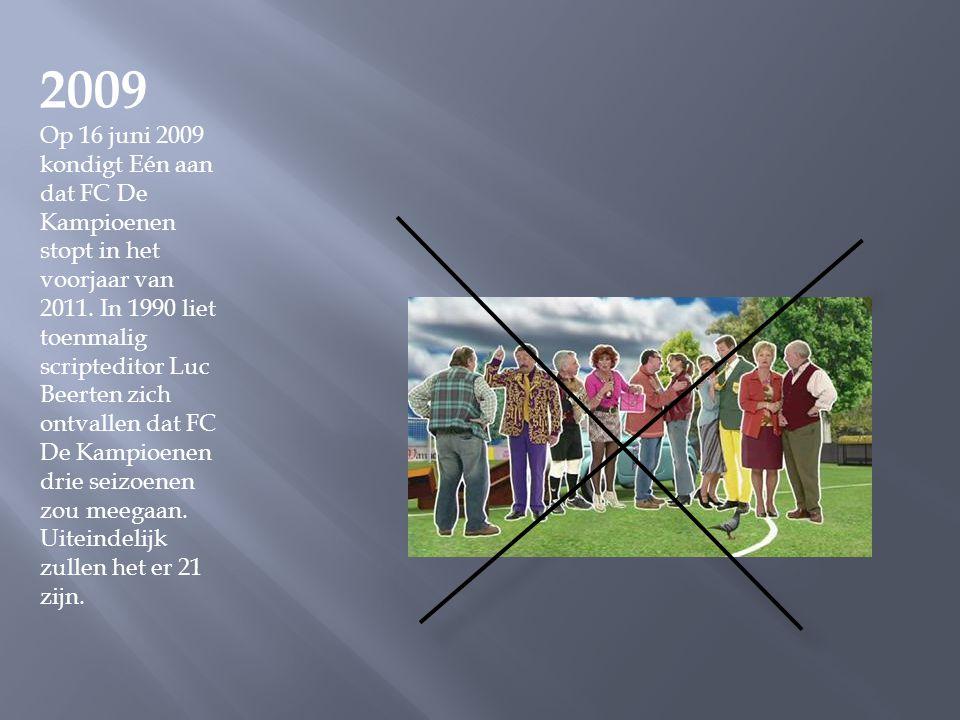 2009 1 april 2009. Het langverwachte filmproject naar aanleiding van de twintigste reeks op televisie wordt afgeblazen. Er is geen consensus over het