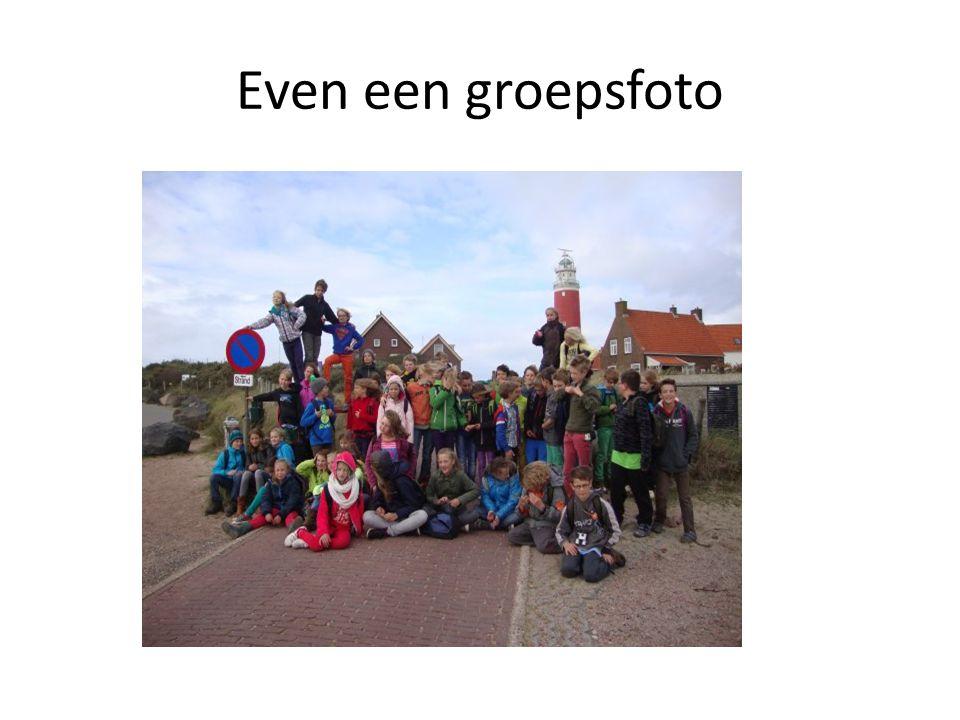 Even een groepsfoto