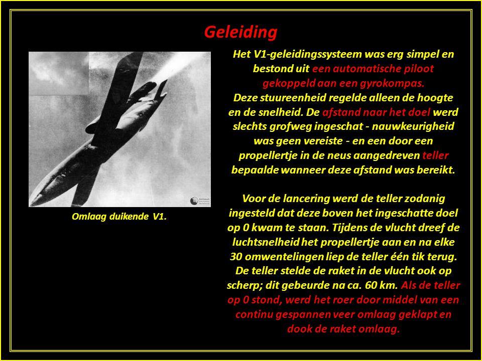 Testen en inzet De eerste testvluchten vonden eind 1941 en begin 1942 plaats vanaf Peenemünde. In juni 1944 hebben zelfs bemande testvluchten plaatsge