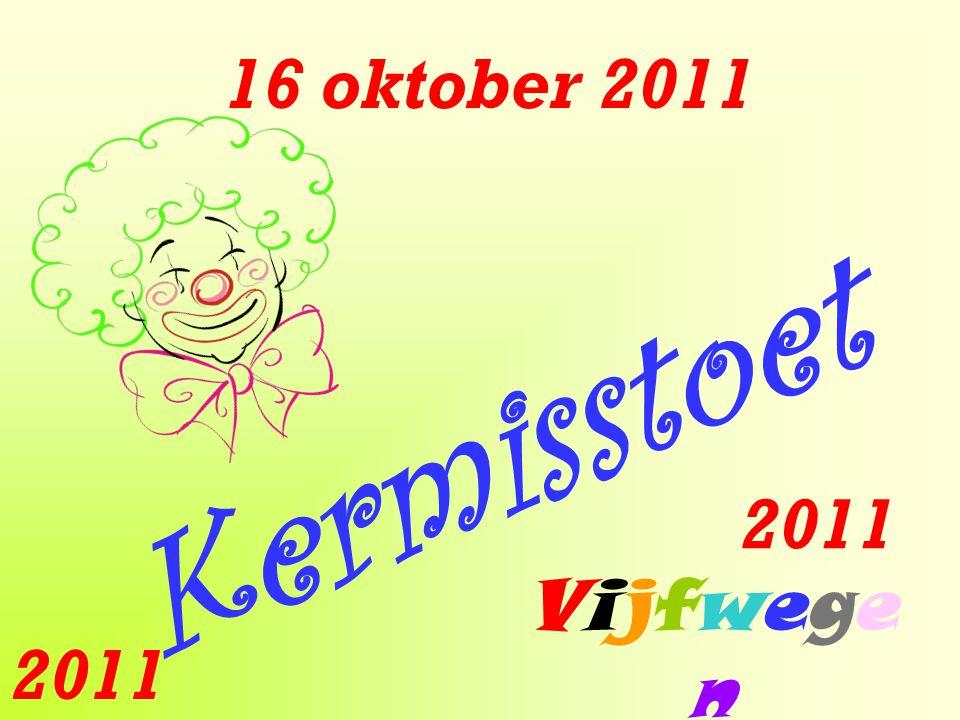 16 oktober 2011 Kermisstoet Vijfwegen Vijfwegen 2011