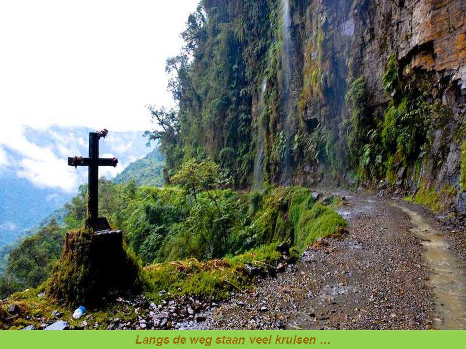 Op deze weg stierven dit jaar 43 mensen. Wees voorzichtig.