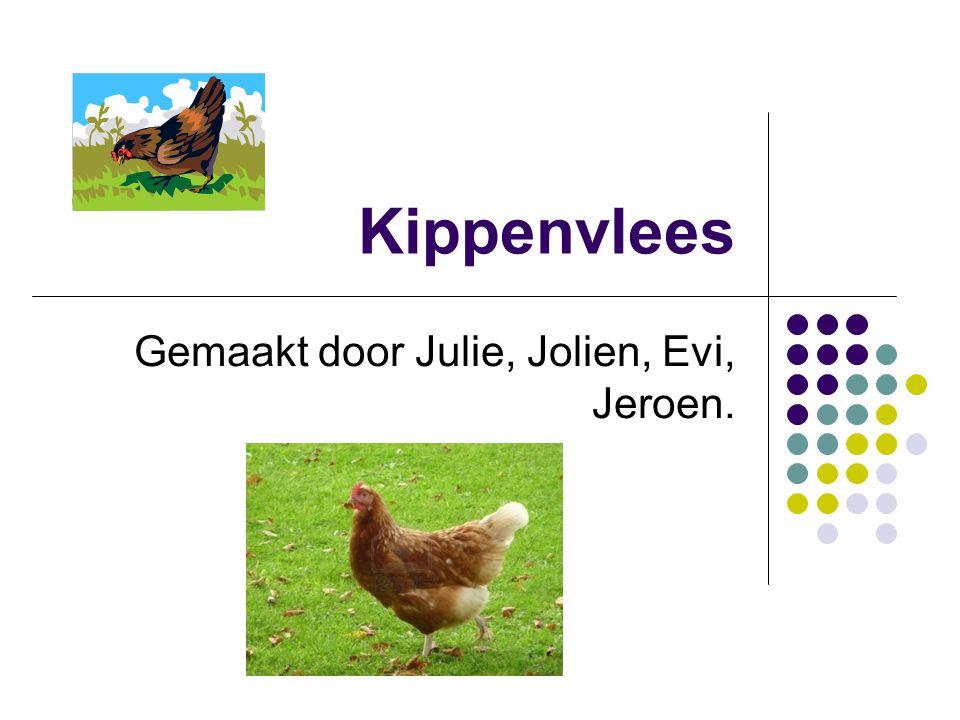 1.kippenkwekerij De kuikens worden geboren in de kippenkwekerij.