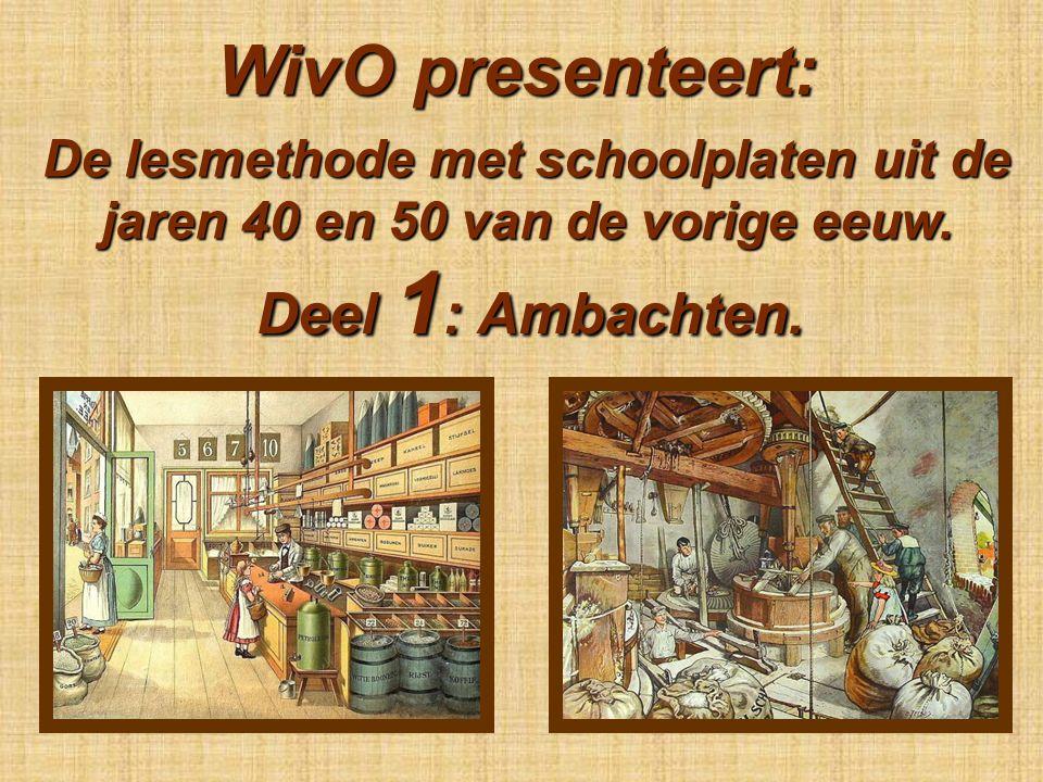 WivO presenteert: De lesmethode met schoolplaten uit de jaren 40 en 50 van de vorige eeuw.
