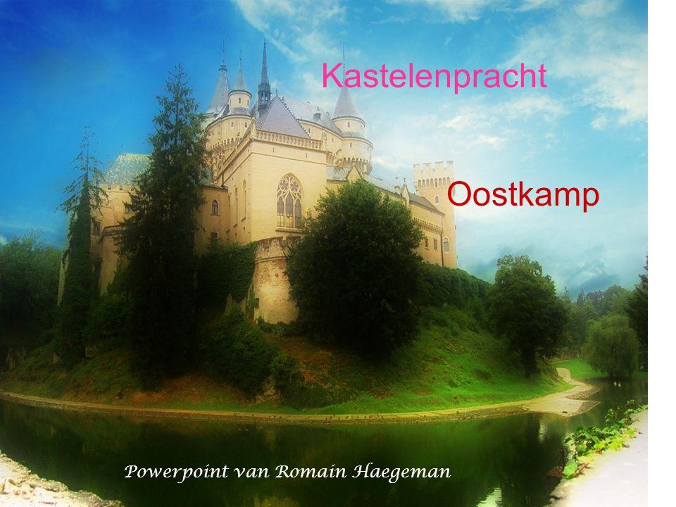Powerpoint van Romain Haegeman Kastelenpracht Oostkamp