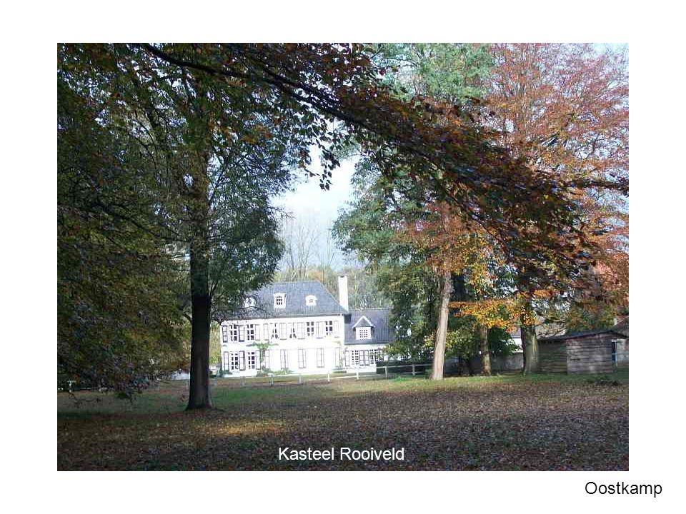 Torentje bij Kasteel Rooiveld Oostkamp