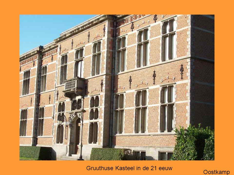 Gruuthuse Kasteel in de 21 eeuw Oostkamp
